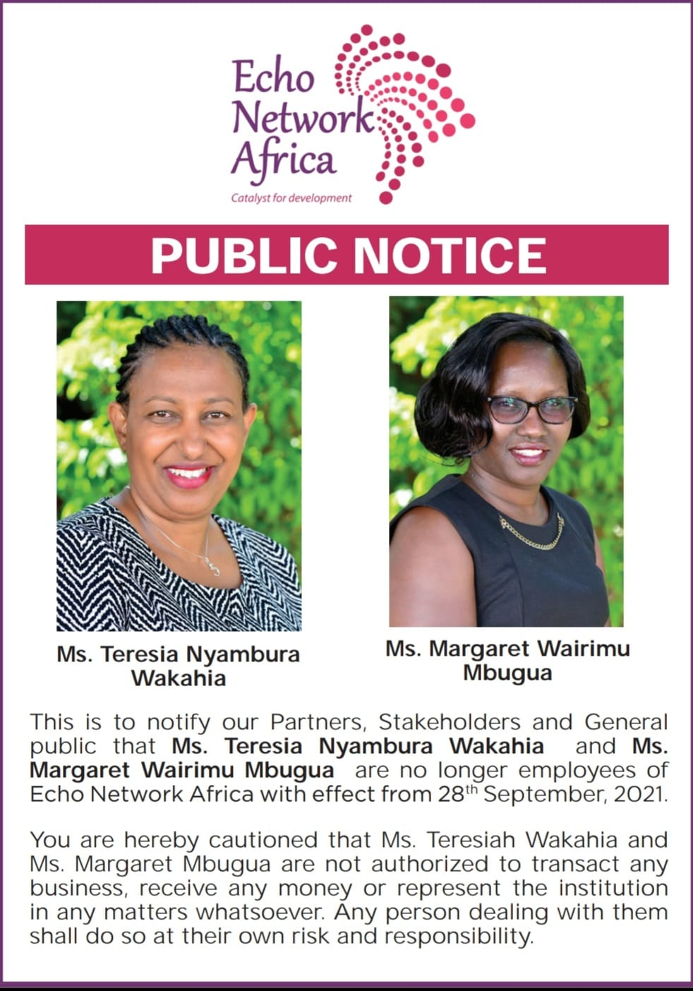 Public Notice 2